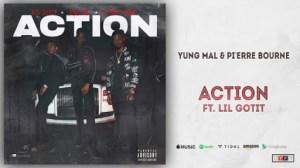Yung Mal - Action Ft. Lil Gotit & Pi